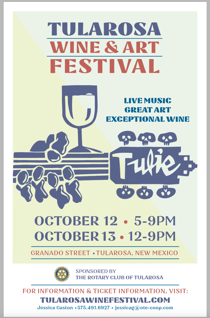 Tularosa Wine Festival Poster