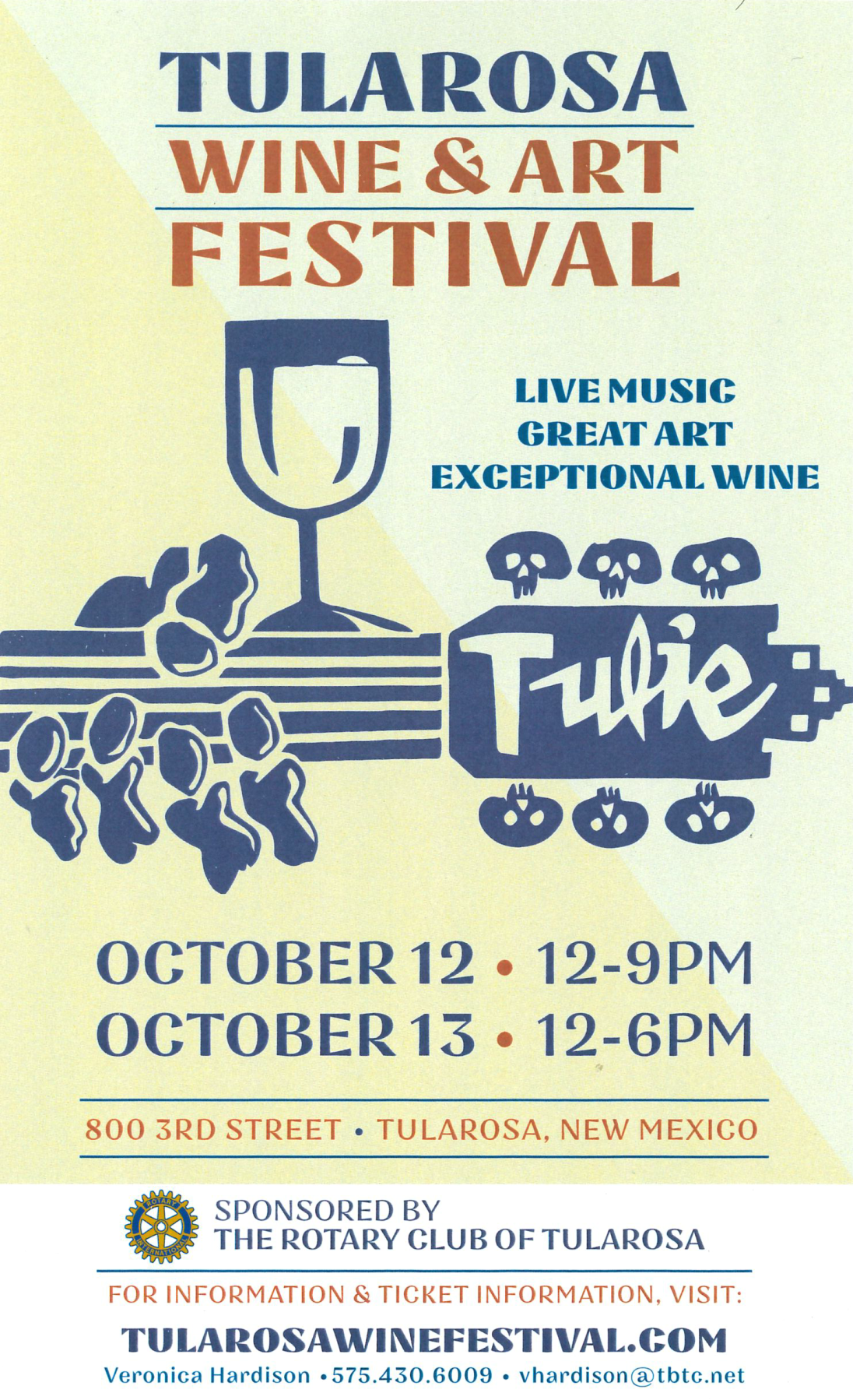 Tularosa Wine and Art Festival 2019